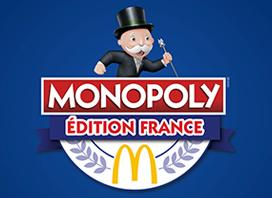 C'est le retour du jeu MONOPOLY™ chez McDonald's !