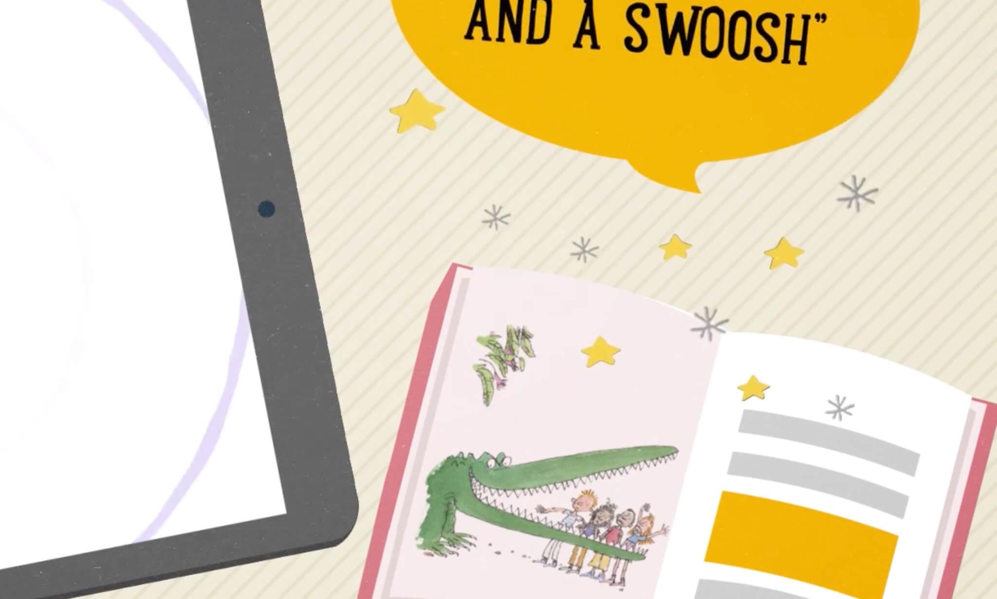 Roald Dahl Interactive Book